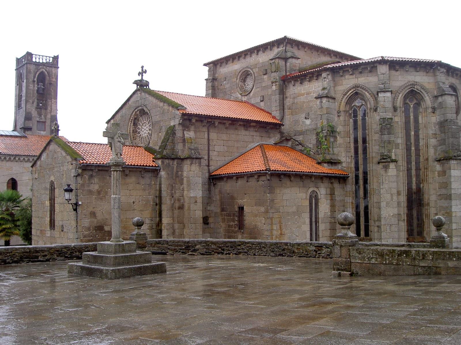 Románico; Betanzos; Camino de Santiago;