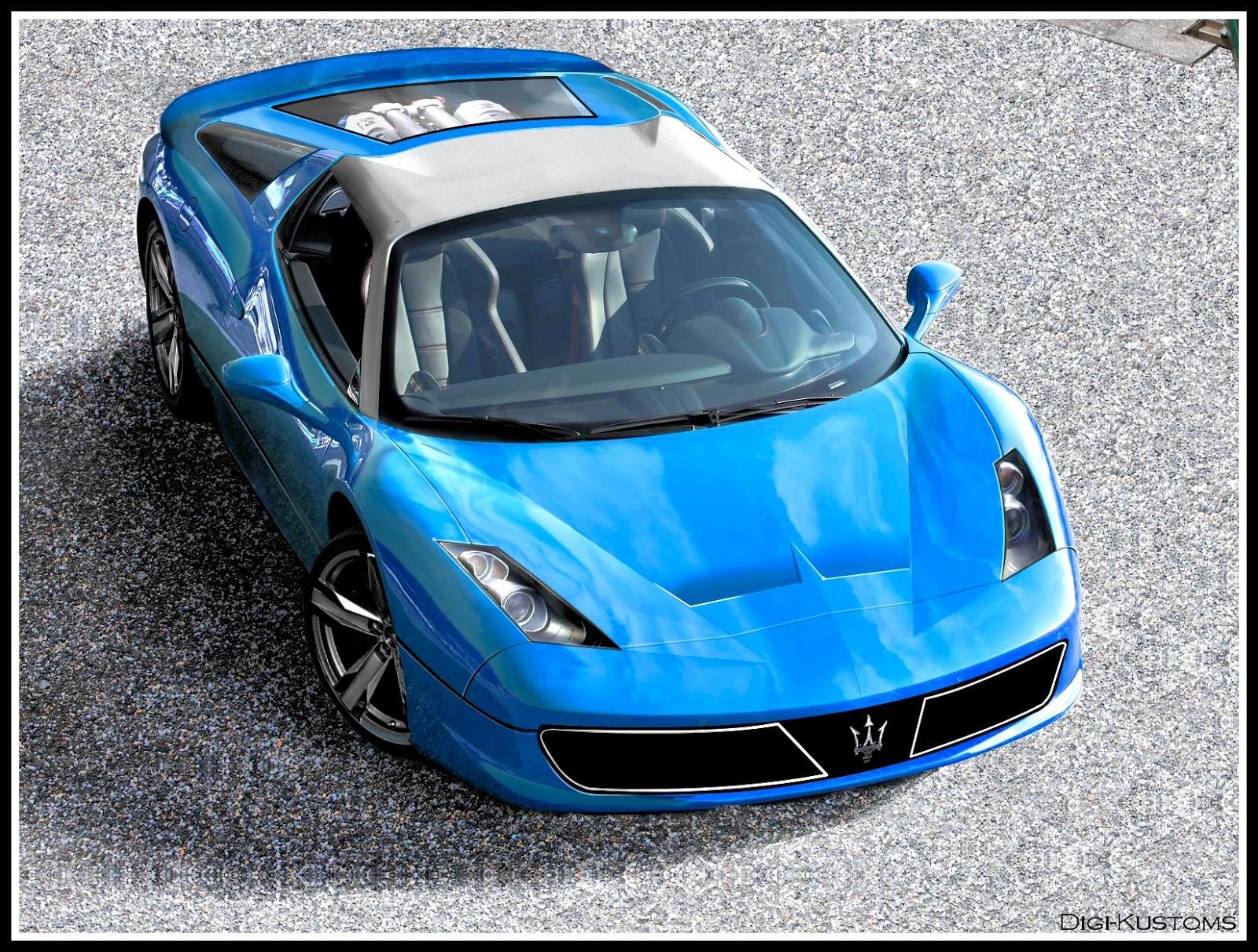 Digi-Kustoms: Maserati Bora 2013 concept
