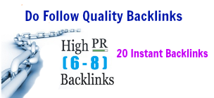 Create backlinks manually