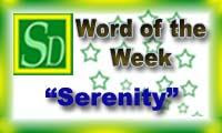 Word of the week - Serenity