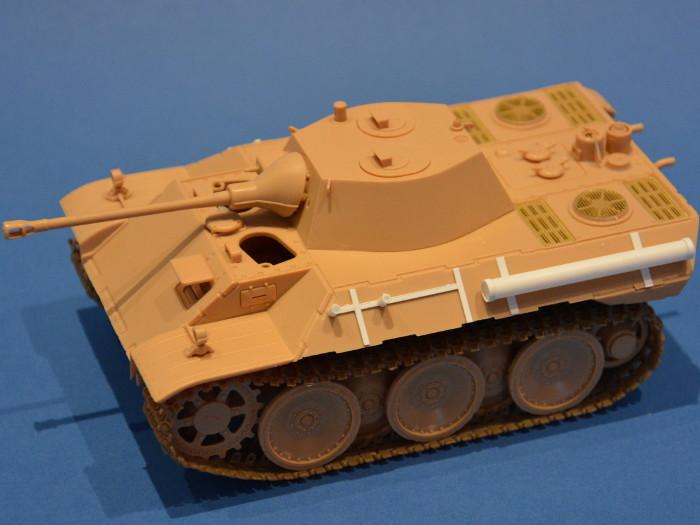 HobbyBoss VK 1602 Leopard - Scratchergänzungen