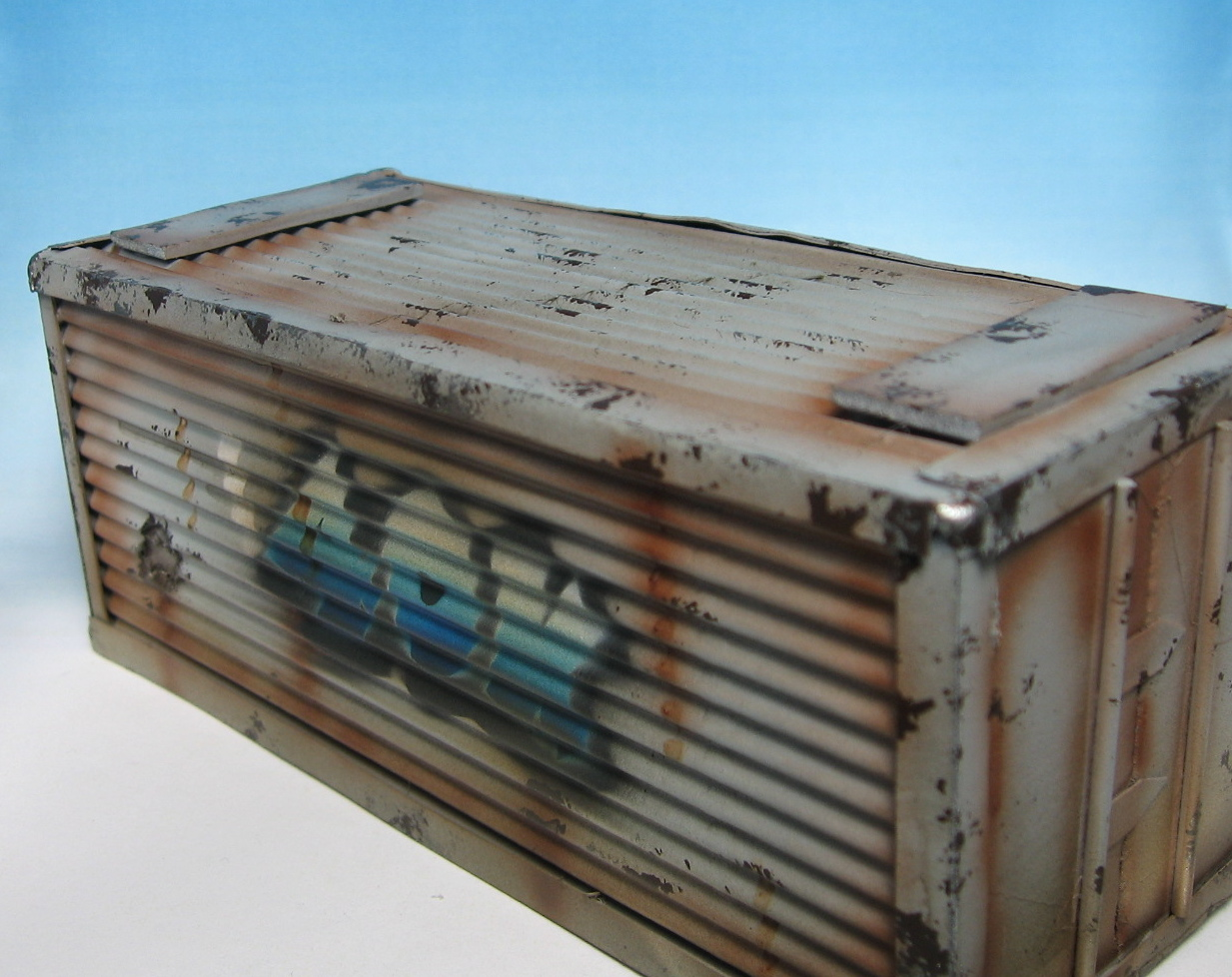 Rust And The City Tutorial Painting A Shipping Container