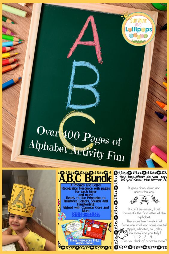 ABC BUNDLE for Pre-K, K & RTI