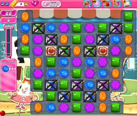 Candy Crush Saga 666