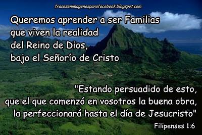 familias cristianas frases en imagenes