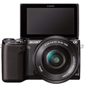 Snapdeal: Buy Sony Alpha NEX-5RL Mirrorless Camera with 16-50mm Lens at Rs. 23125