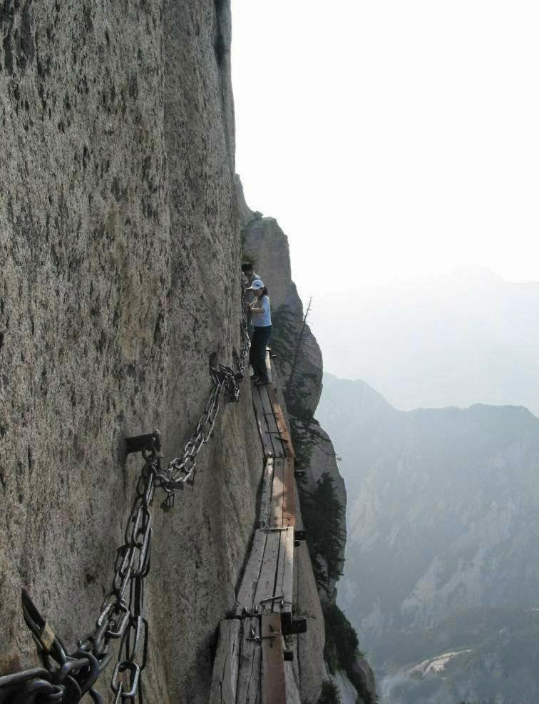 Plank - Hua shan mountain