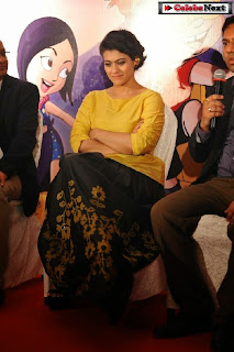 Bollywood Actress Kajol at Mighty Raju Rio Calling Promotion  0011