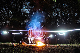 Ghost Lights - photo by Mike Gilpin and Benjamin Akira Tallamy