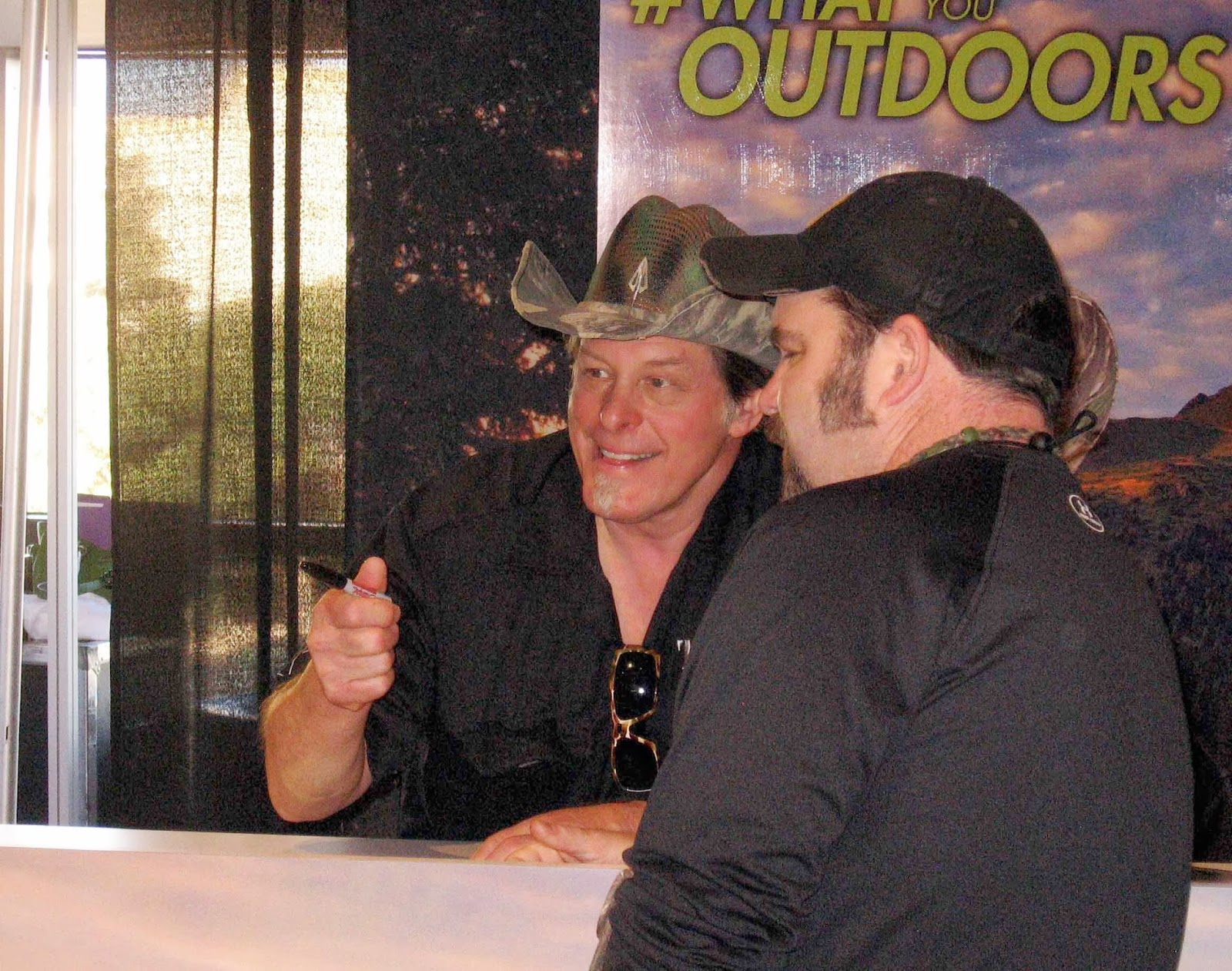 Rocky mountain bushcraft shot show 2014 first impression review - Shot Show 2014 Ted Nugent Interacts With Fans