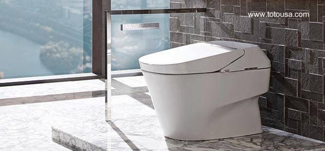 Baño Inodoro En Inglés:Arquitectura de Casas: Inodoro de moderno diseño con funciones