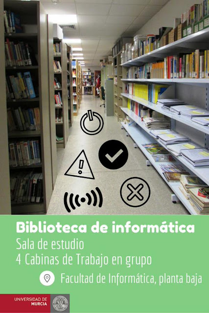 """Conócenos 4"" - Biblioteca de Informática."