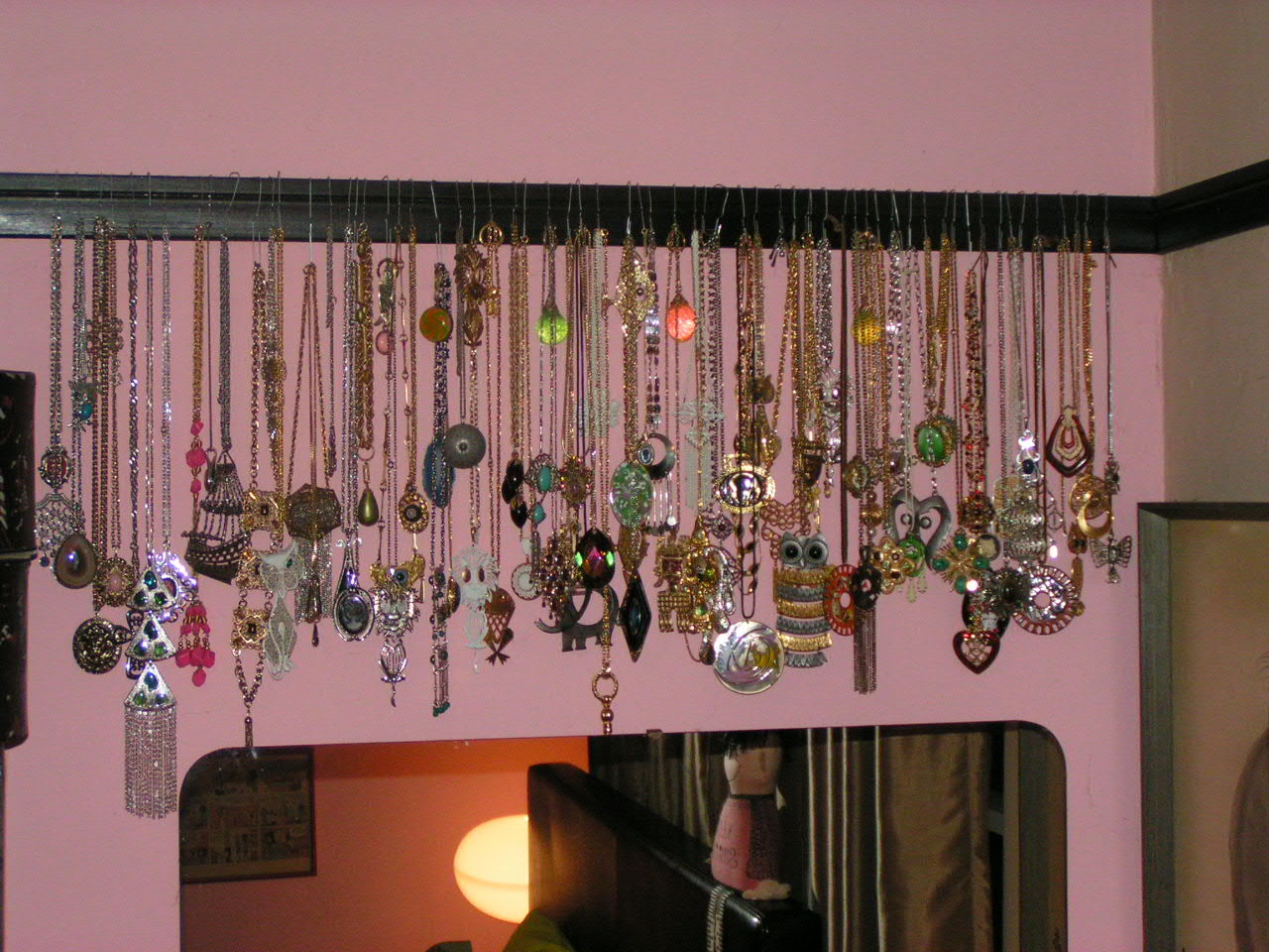 annimal house how s yours hangin diy necklace hangers