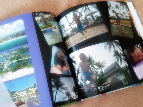 家族旅行の写真集・mybook