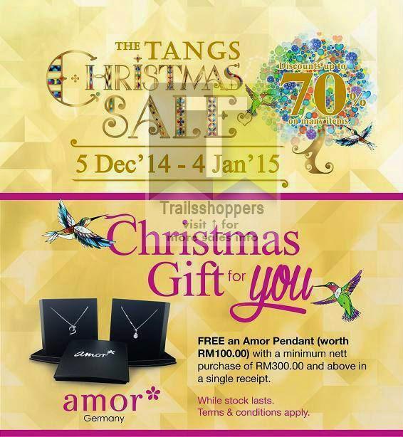 Tangs Malaysia Christmas Sale