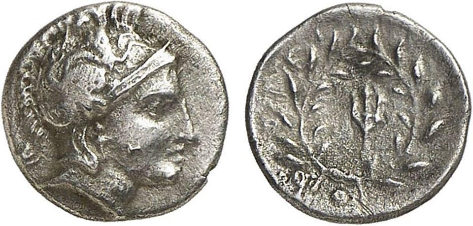 Όβολο ar. Περίπου. 4 ος αιώνας. Π.Χ.