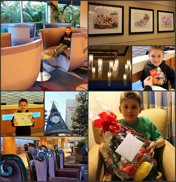 lobby, disneyland hotel, tea cups, art work, chairs, sorcerer's hat