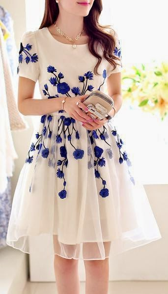 Top 5 Blossom embroidered dresses