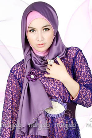 Model Trend Hijab Modern Terbaru 2016 image