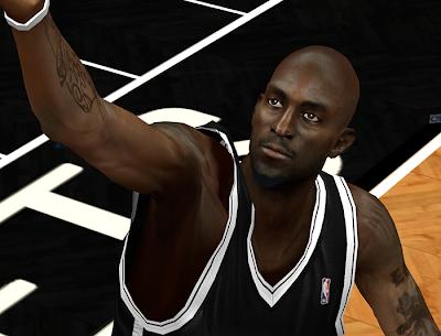 NBA 2K14 Kevin Garnett Cyberface Mod