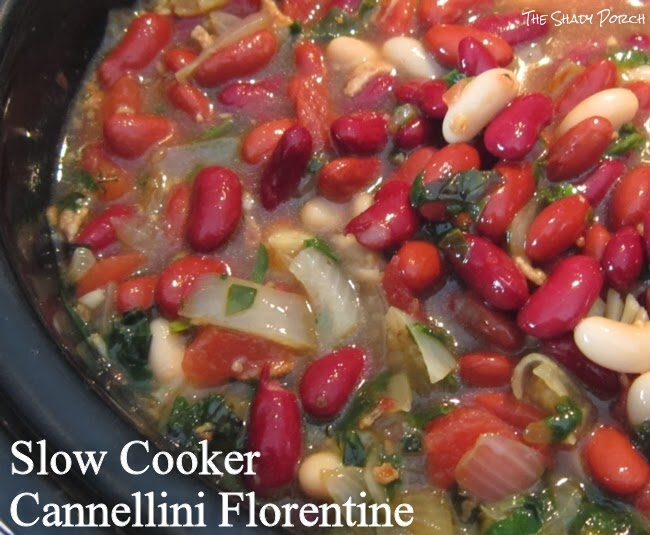 Slow Cooker Cannellini Florentine