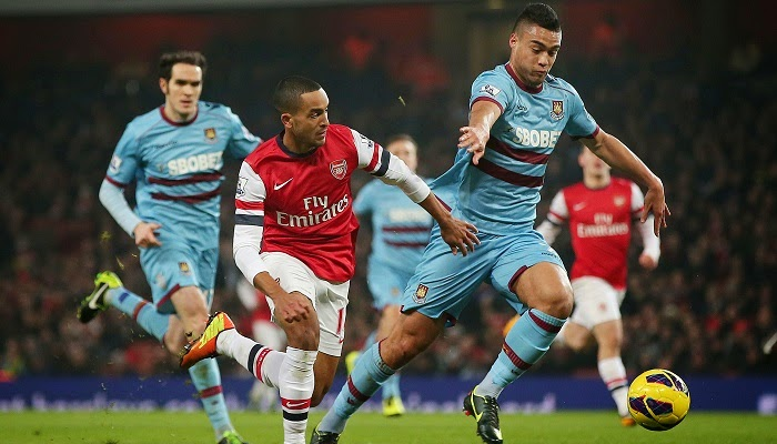 Arsenal vs West Ham en vivo