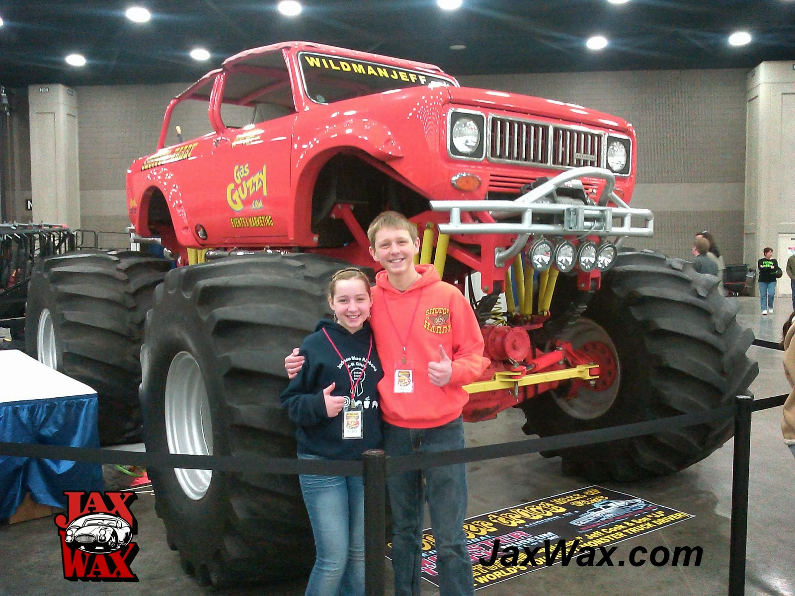 Scout Monster Truck Carl Casper Auto Show Jax Wax Customer