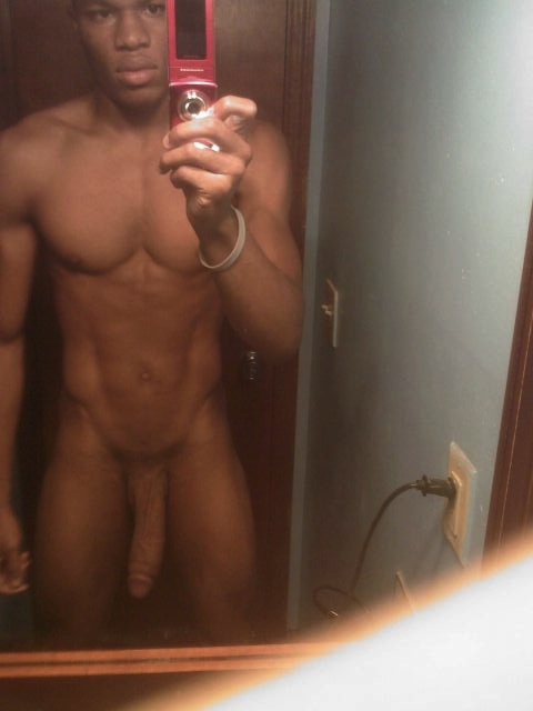 Black Men Nude Selfies