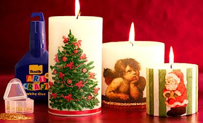 velas decorativas para o natal blog tudo sobre tudo