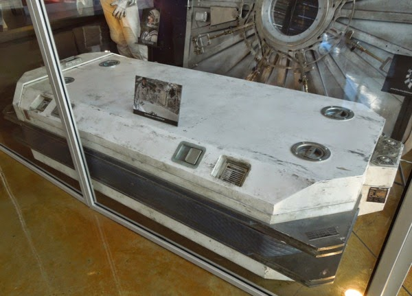 Interstellar cryobed movie prop