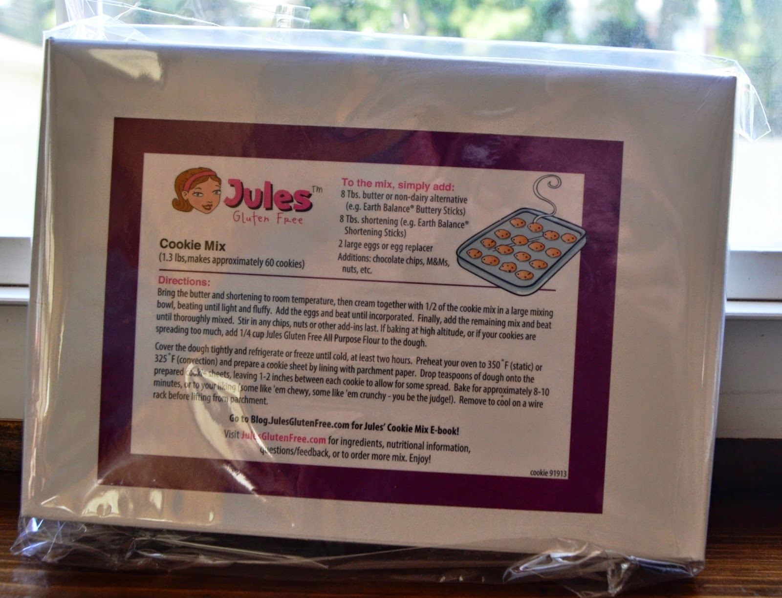 Jules Gluten-Free Cookie Mix