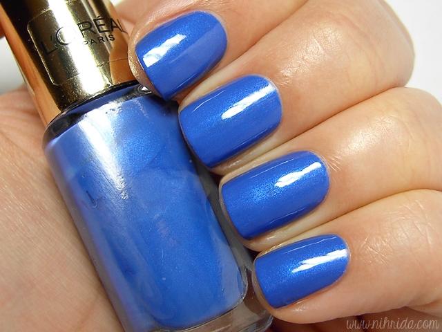 L'Oreal Color Riche in Rebel Blue