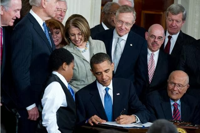 Barack Obama bill signing