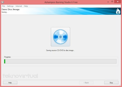 Cara Membuat File ISO dari CD/ DVD 6