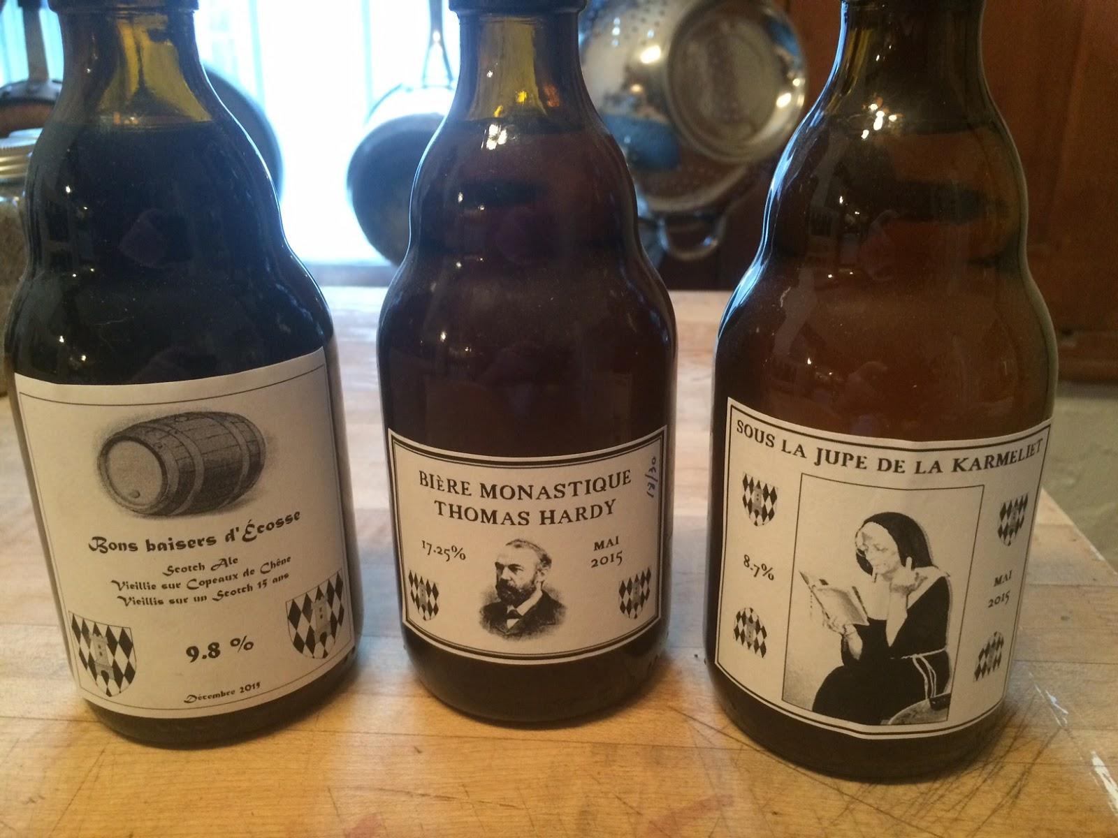 Sehr La route d'la soif: Faire ses étiquettes de bière FK62