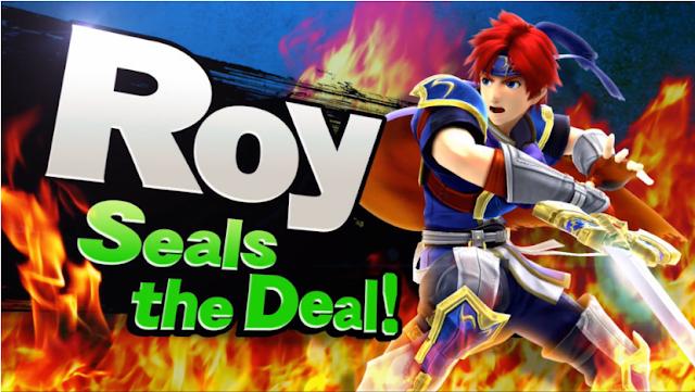 Roy Seals the Deal Super Smash Bros. Fire Emblem
