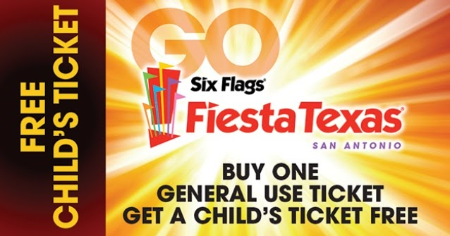 Up to $25 Off Six Flags Tickets w/ Coke Can Save up to $25 when you bring a coke can to the ticket booth of your local Six Flags Park OR buy online before the day and save up to $25 on each ticket! Savings rates will vary park to park and depend on the day of the week you want to go visit.