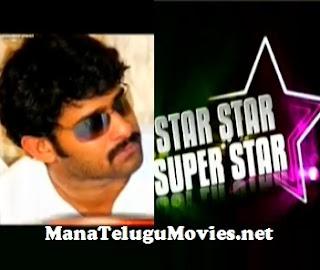 Star Star Super Star on Prabhas