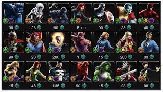 "Marvel Avengers Alliance: Season 2 Chapter 3 ""Crisis of Leadership"" Task List"