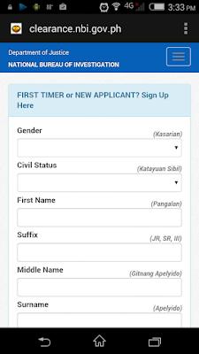 Getting an NBI Clearance Online