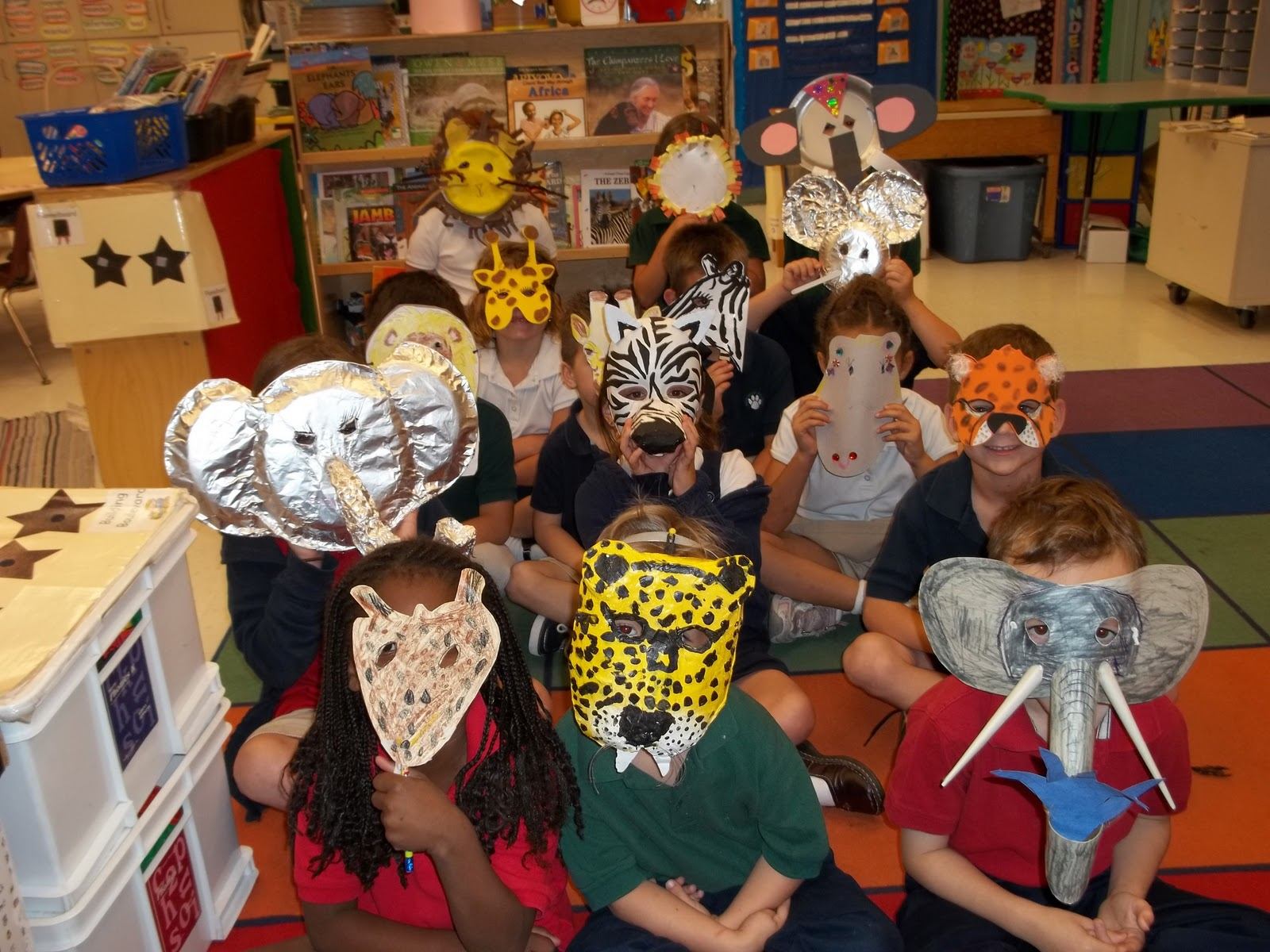 Put Your Whole Self In African Animal Masks