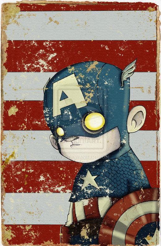 Captain Amercia por UMINGA