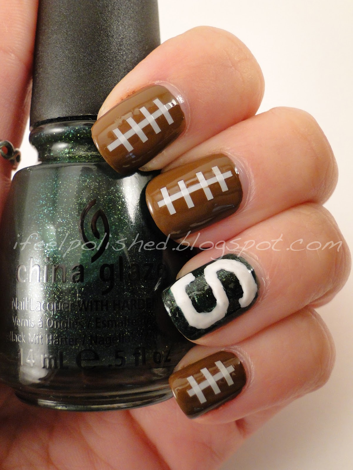 Michigan State Nails