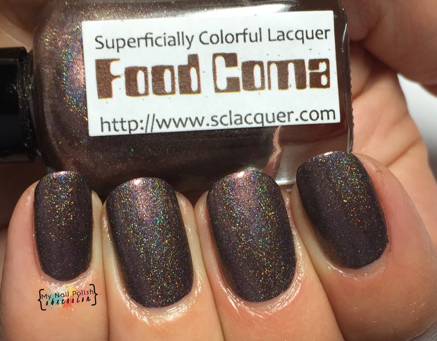 Superficially Colorful Lacquer Food Coma