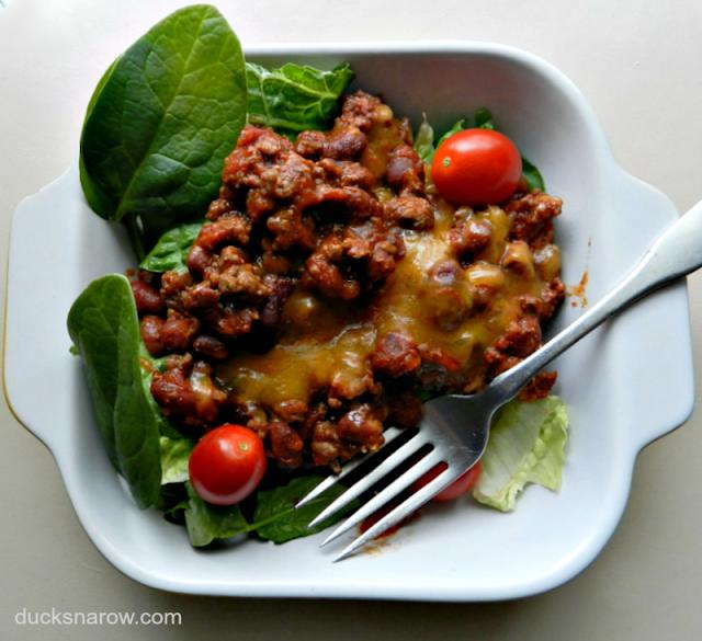 Mexican food, salad