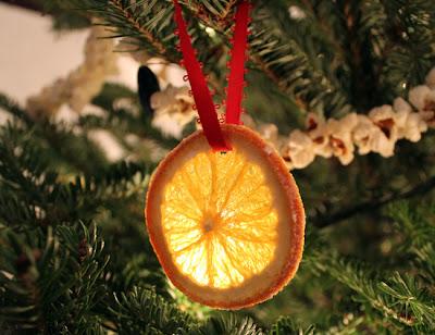Enfeite de Natal orgânico