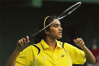 Female Badminton Player P. V. Sindhu
