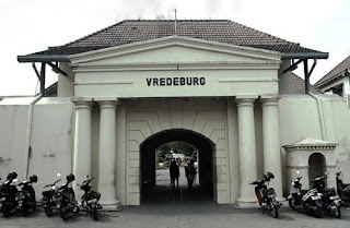 Vredeburg Fortess Gate Building