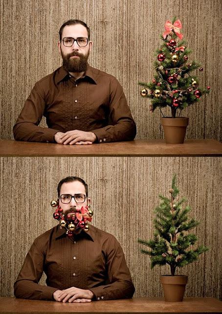 kerstmis baard