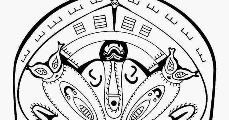 countries polynesian advance mandala coloring pages